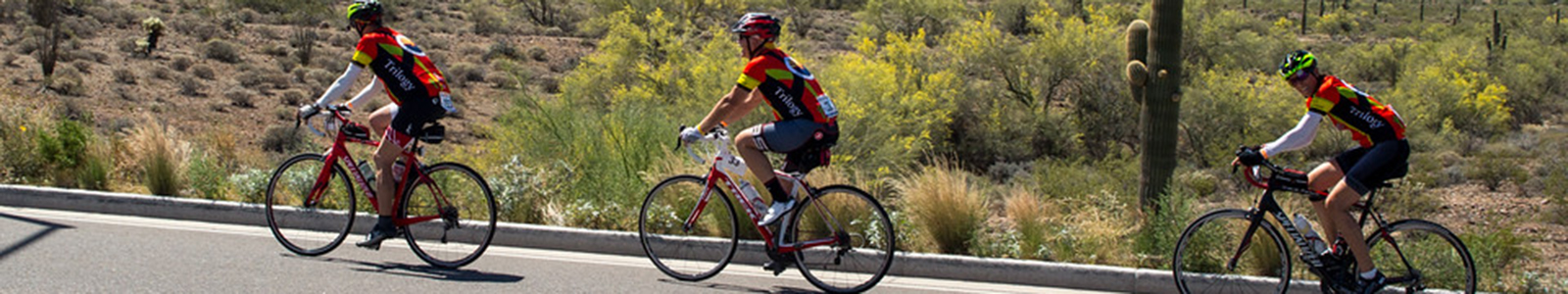 2018 AZA Bike MS Arizona banner image